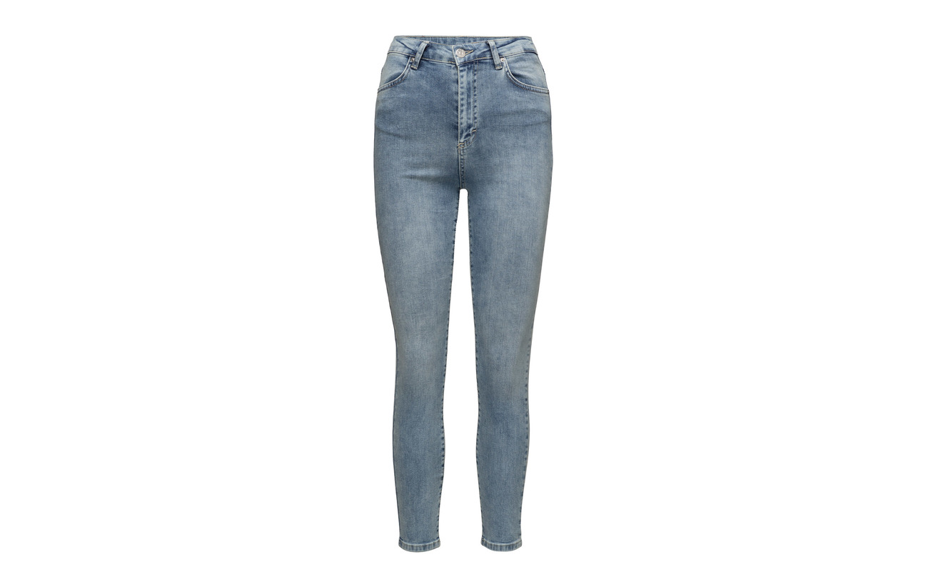 98 2nd Blue Amy 2 Coton 835 Jeans Crop One Silky Silky Elastane IqIrZ8Ow