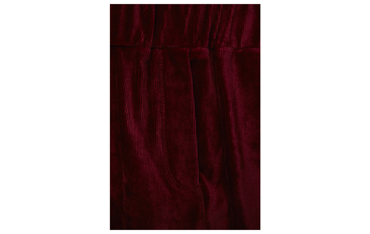 Pants Corduroy 104 Miley Red Elastane 2nd Earth One Polyester 97 3 gYw6tgq4F1