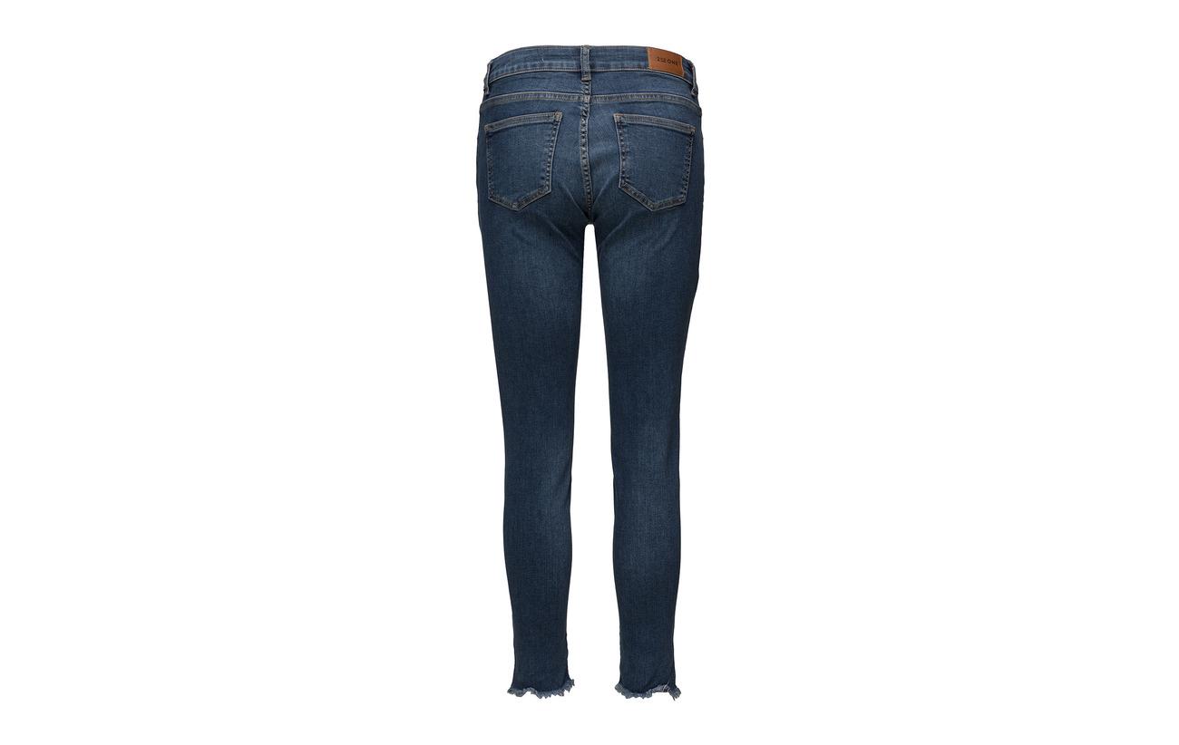 Jeans Split Polyester 893 3 Flex Indigo One 91 Raw 6 Crop Nicole 2nd Elastane Coton qxCIa8w7C