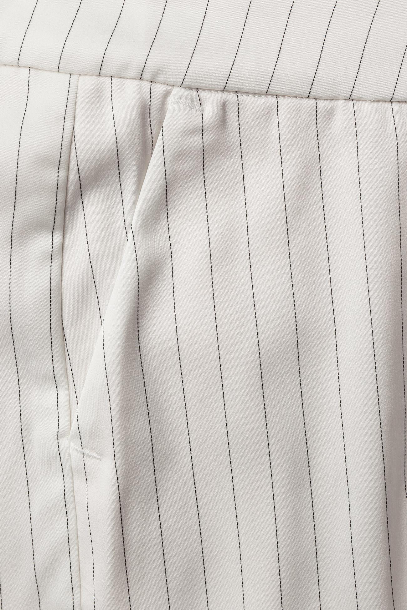 2nd One Eloise 807 Crop, Cream Pin, Pants - Byxor Pin