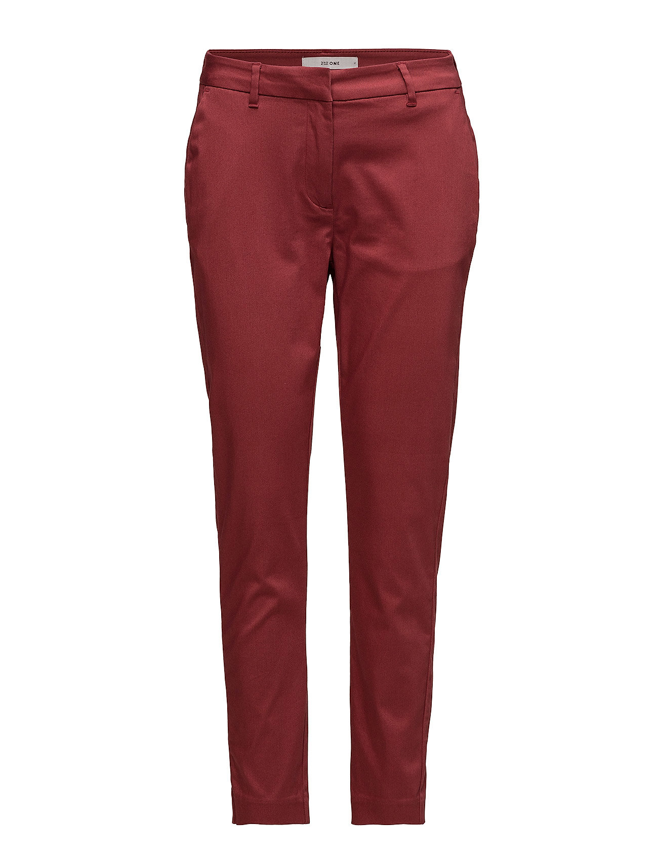 2nd One Carine 065 Pants - EARTH RED