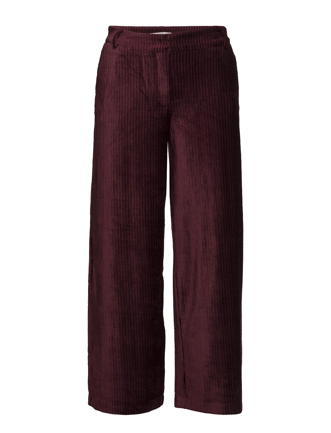 2nd One Eloise 107 Crop Cordovan Pants - CORDOVAN CORDUROY