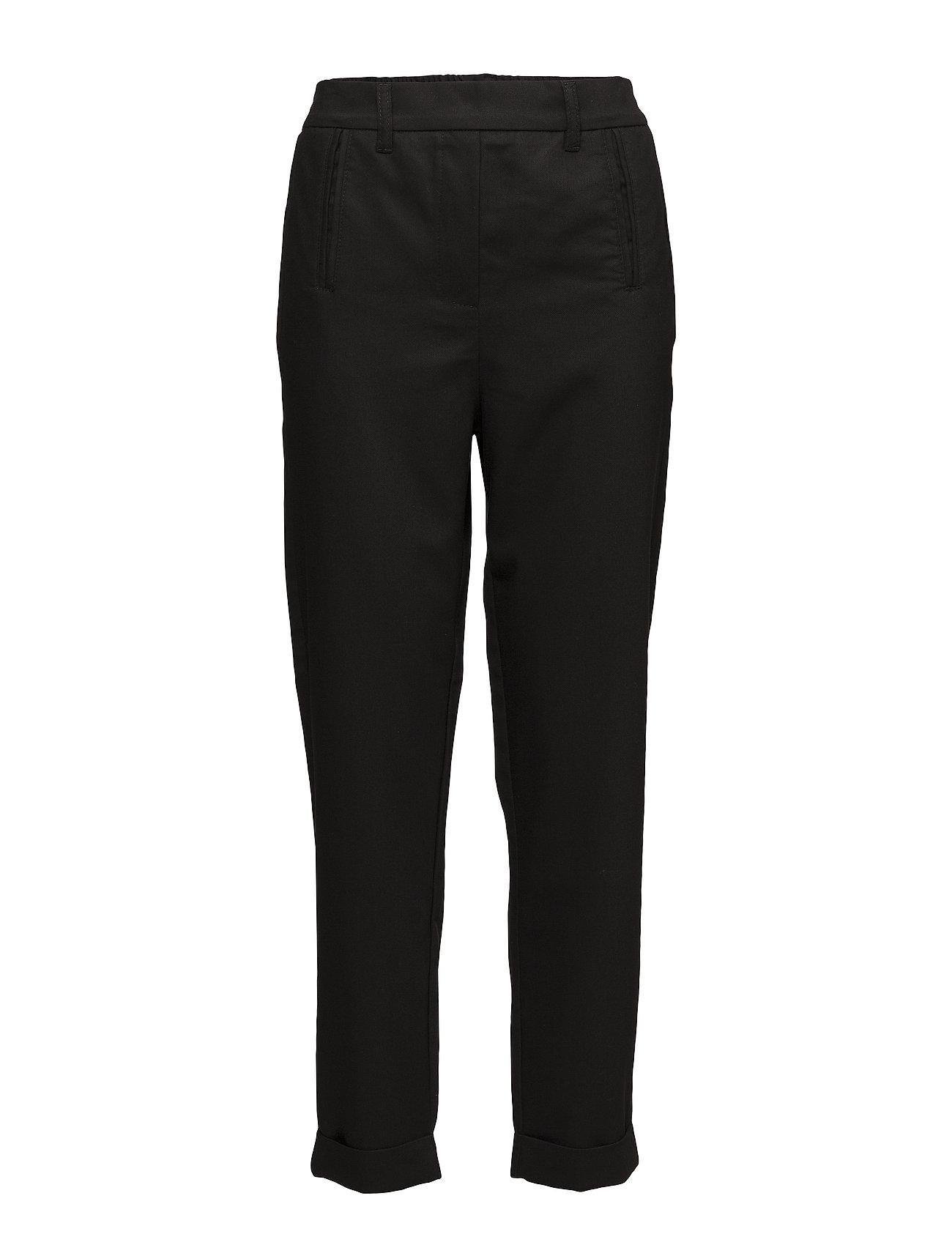 2nd One Anne 012 Pants - BLACK GRAIN