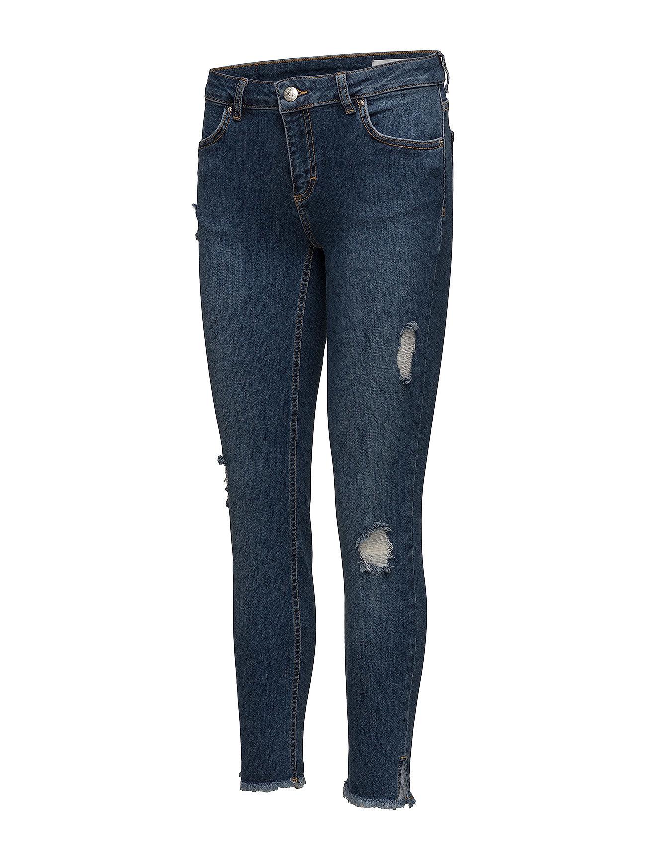 2nd One Nicole 893 Crop  Jeans (Raw Indigo Flex Split), 309