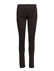 Nicole 006 Moon Black Satin, Jeans - MOON BLACK SATIN