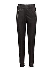 Miley 063 Zip, Current Black, Pants - CURRENT BLACK