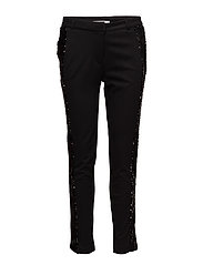Carine 810 Black Sequin, Pants - BLACK SEQUIN
