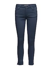 Nicole 006 Crop, Tide Split, Jeans - TIDE SPIRIT