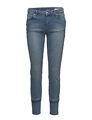 Nicole 829 Crop, Raw Blue Voyage, Jeans - RAW BLUE VOYAGE