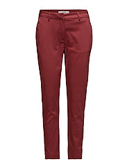 Carine 065 Pants - EARTH RED