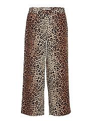 Eloise 442 Crop, Leopard, Pants - LEOPARD