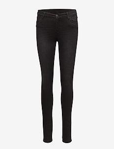 Nicole 004 Black Venice, Jeans - BLACK VENICE