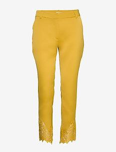Carine 818 Antique Lace, Pants - straight leg hosen - antique lace
