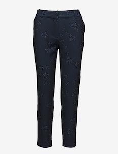 Carine 881 Pants - BLUE FLUORESCENT BLOOM