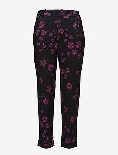 Anne 881 Pants - PINK FLUORESCENT BLOOM