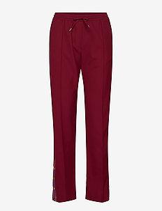 Gigi 813 Track Pants - RED TRACK