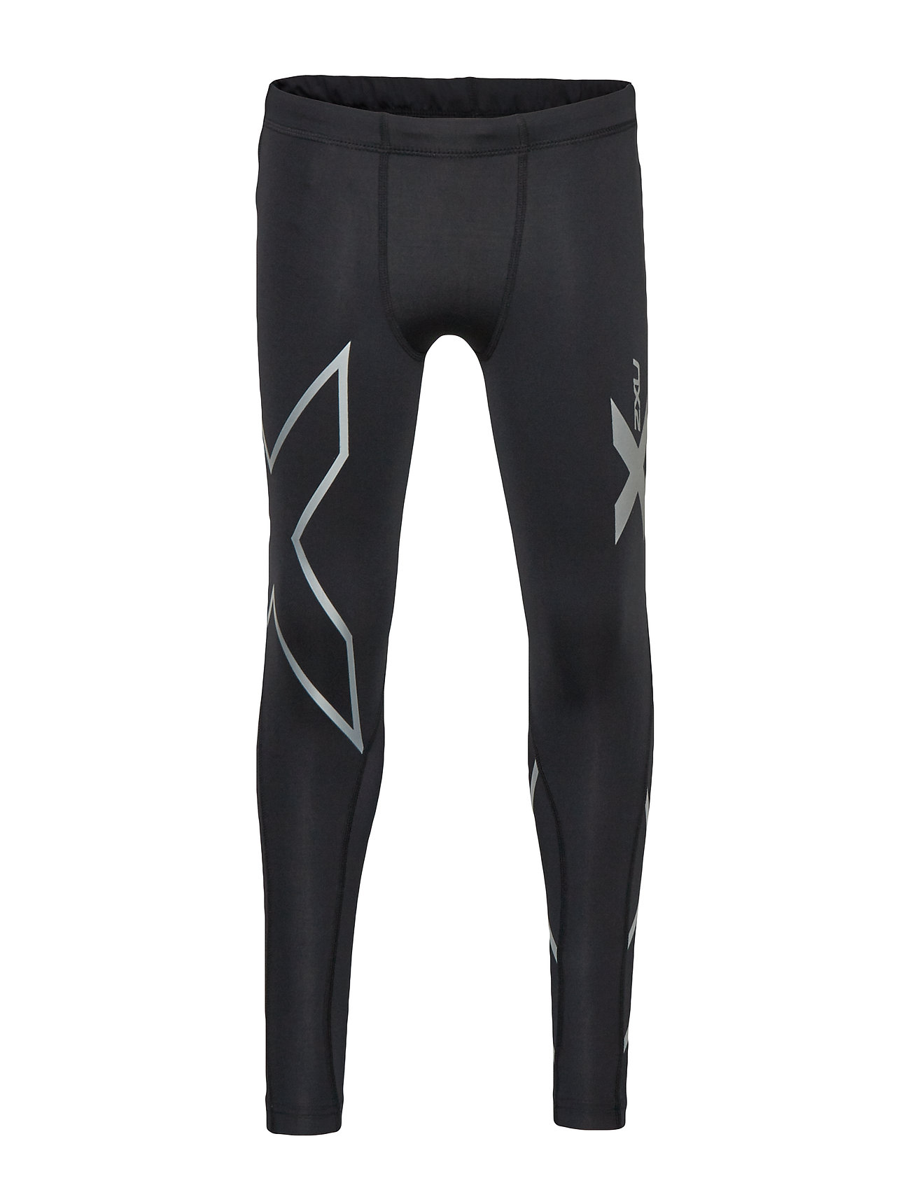 2XU Boys Compression Tights-Youth - BLACK/BLACK