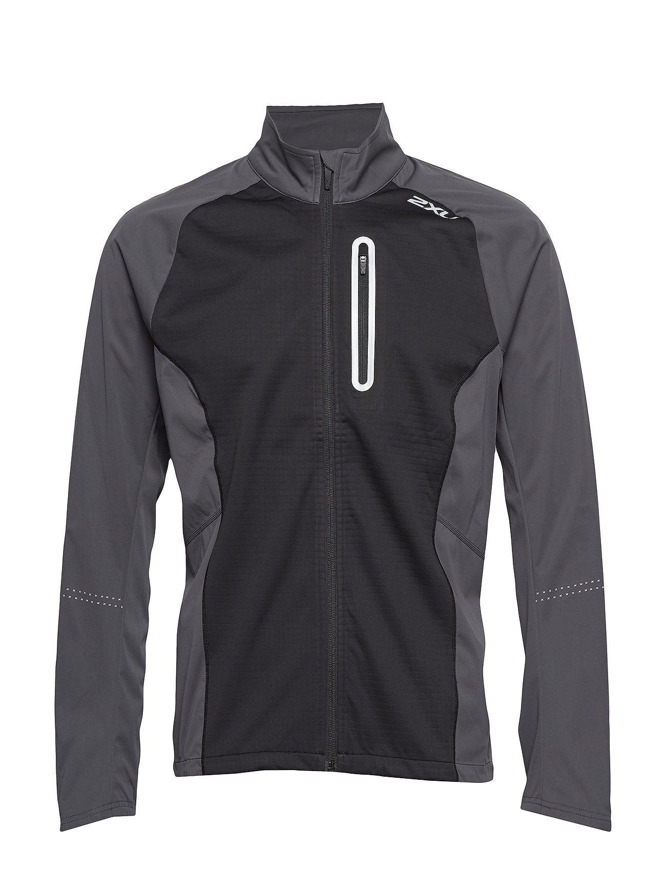 2XU Wind Defence Membrane Jacket - CHARCOAL/BLACK
