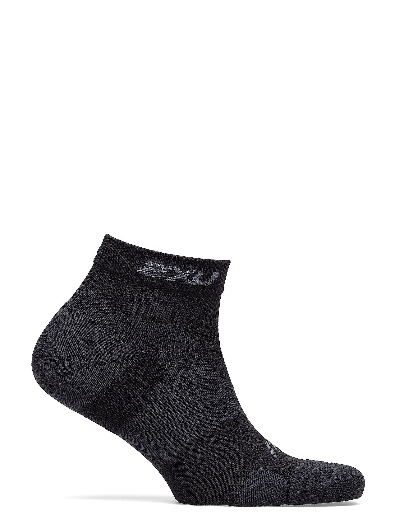 2XU - VECTR LIGHT CUSH 1/4 CREW SOC - kousen - black/titanium - 0