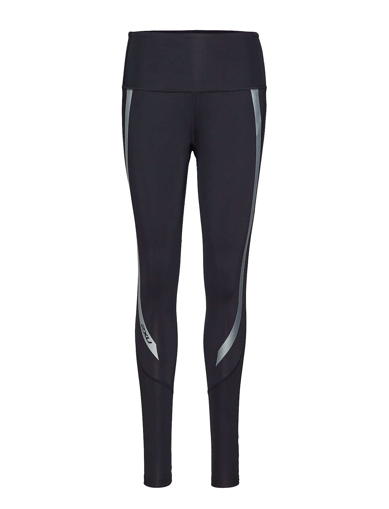 e673e983 Hi-rise Compression Tights (Black/silver) (£54.50) - 2XU - | Boozt.com
