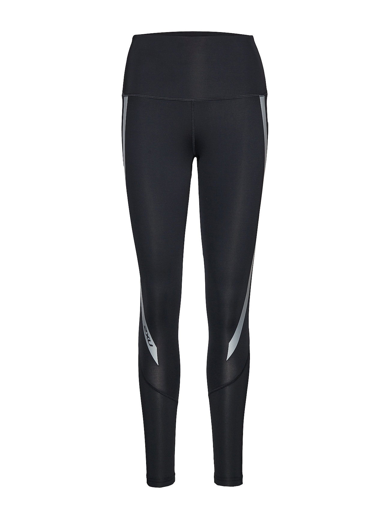 2XU Hi-Rise Compression Tights-W - BLACK/SILVER