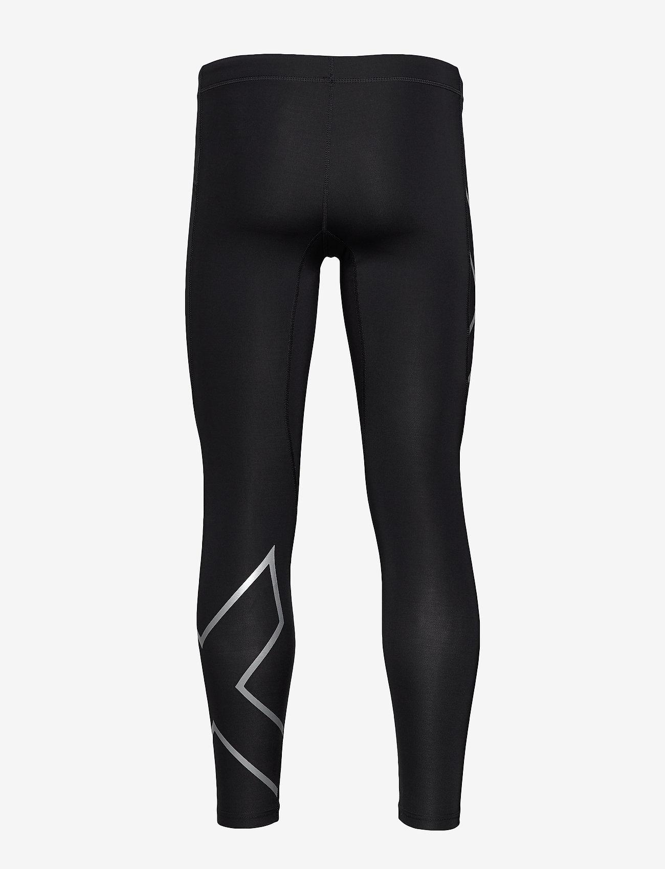 2XU - CORE COMPRESSION TIGHTS - løbe- og træningstights - black/silver - 1