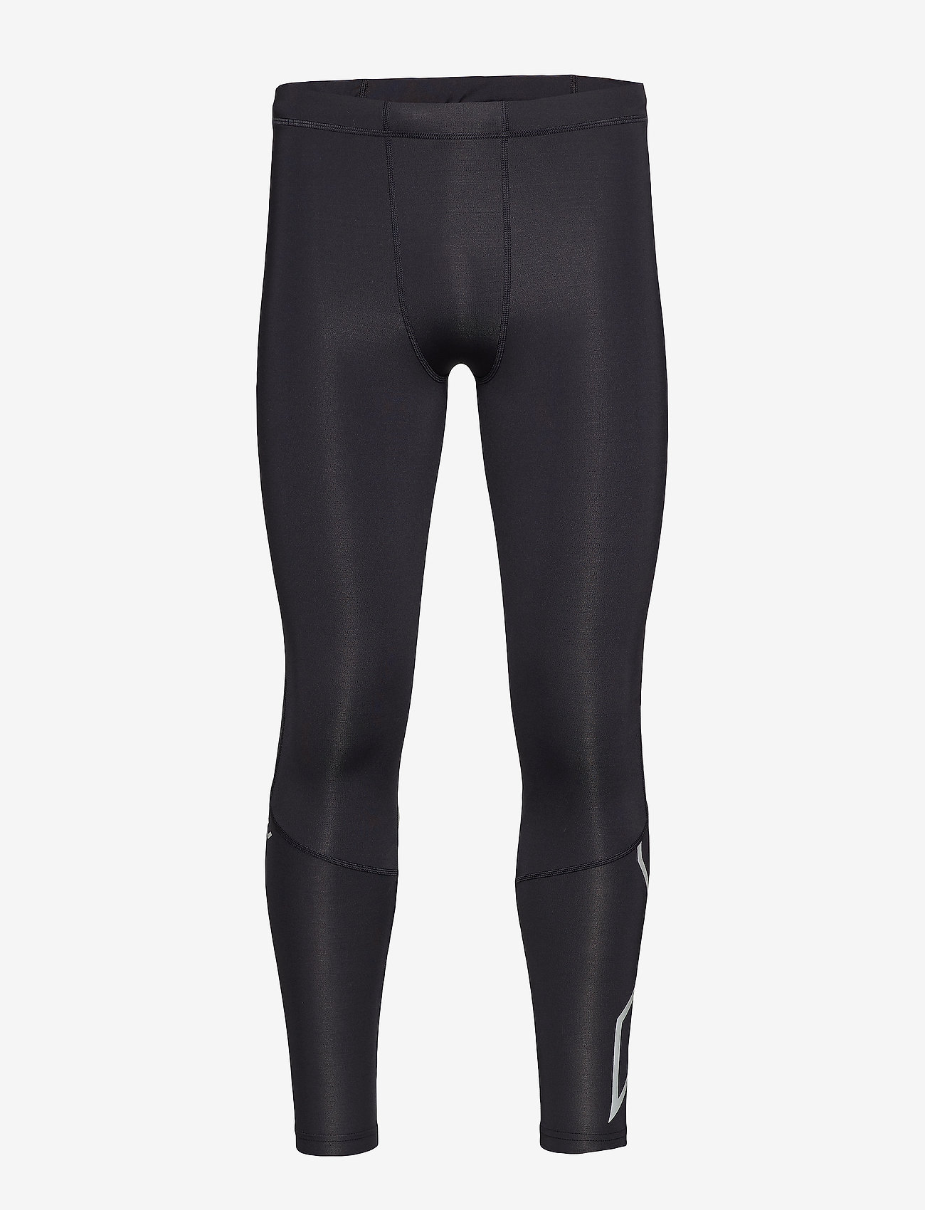 2XU - Run Comp Tights w/Back Storage-M - løbe- og træningstights - black/silver reflective - 0