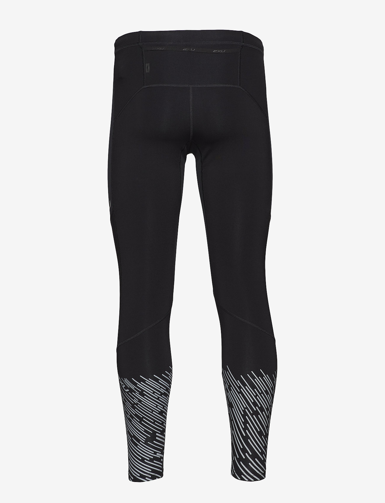 Wind Defence Comp Tights (Black/silver Lightbeams Reflective) - 2XU hczc2D