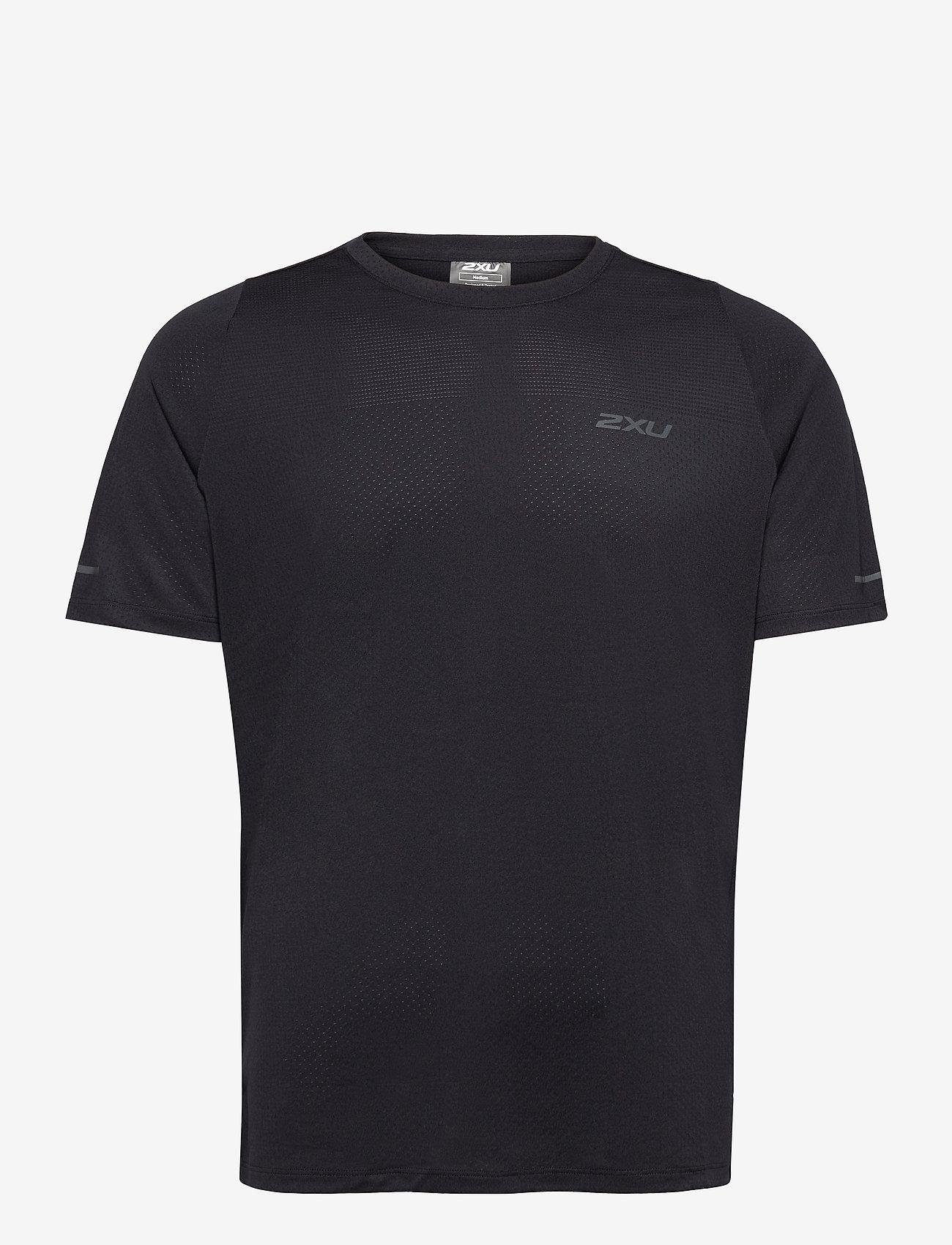 2XU - LIGHT SPEED TECH TEE - t-shirts - black/ black reflective - 0