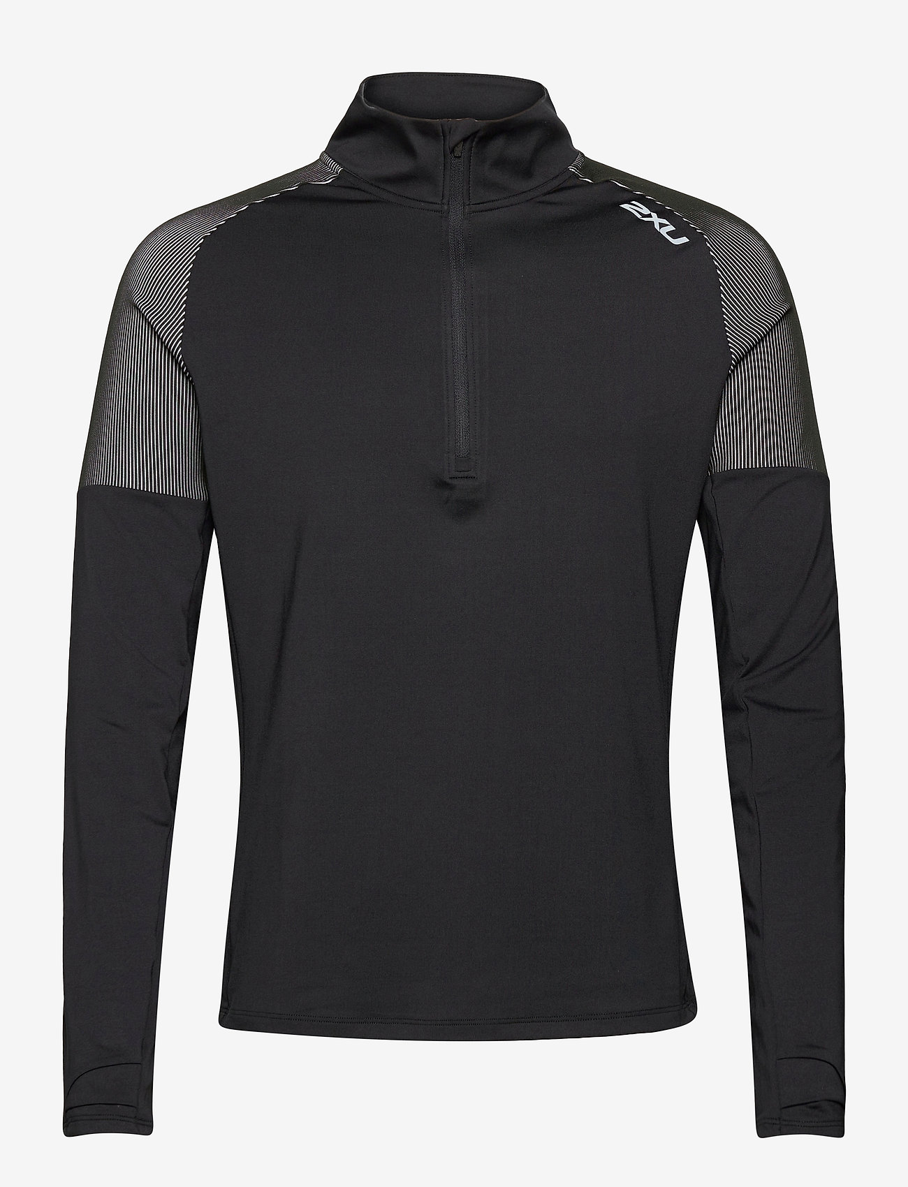 2XU - LIGHT SPEED 1/2 ZIP - langaermede-toppe - black/silver reflective - 0