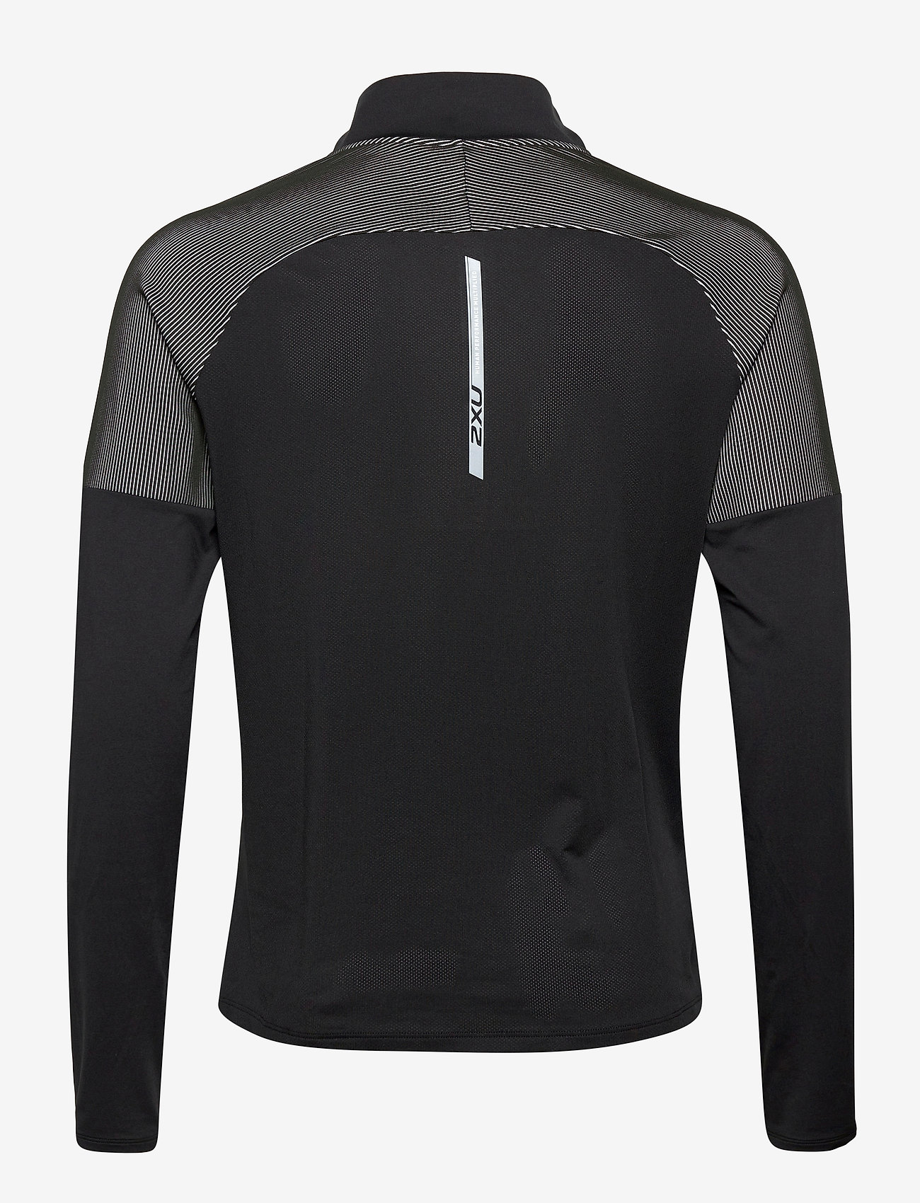 2XU - LIGHT SPEED 1/2 ZIP - langaermede-toppe - black/silver reflective - 1