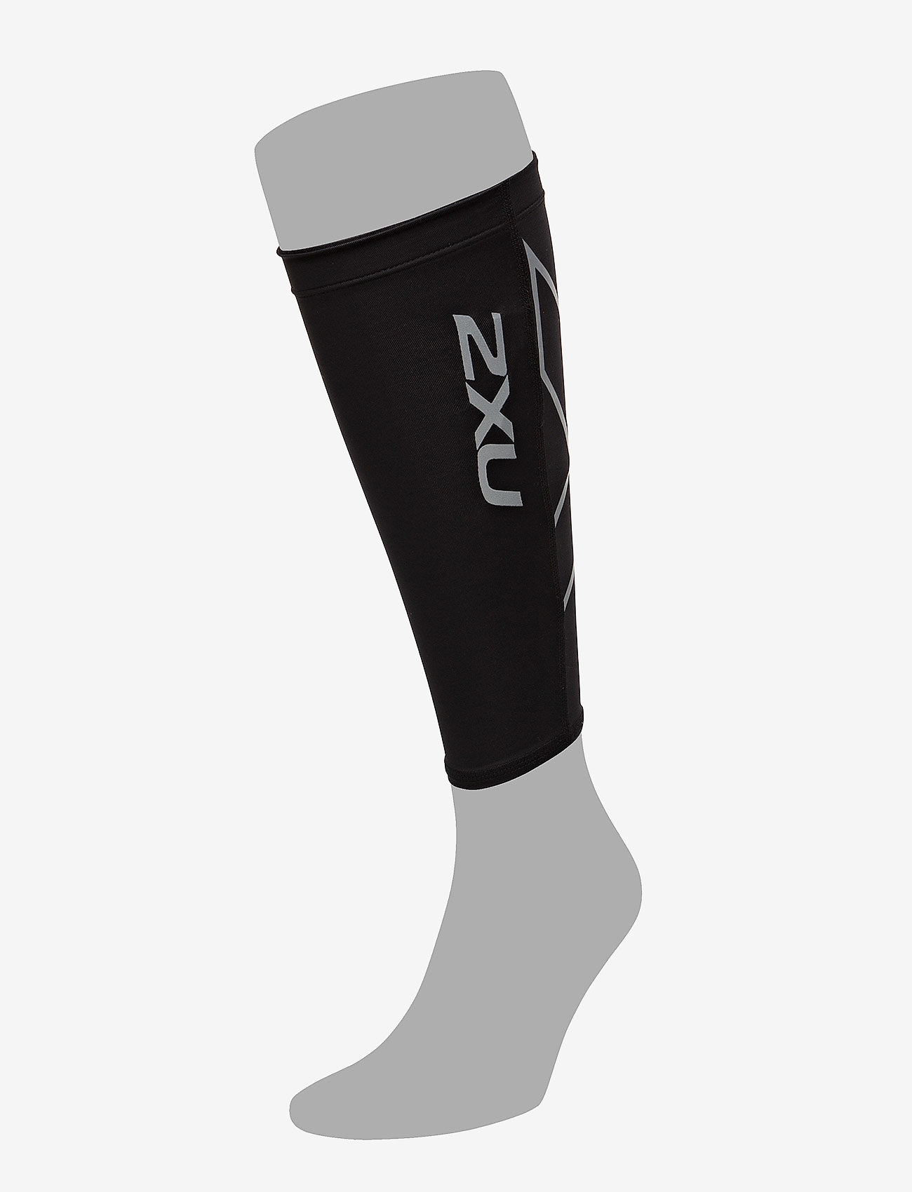 2XU - COMPRESSION CALF GUARDS - leggstøtte - black/black - 1