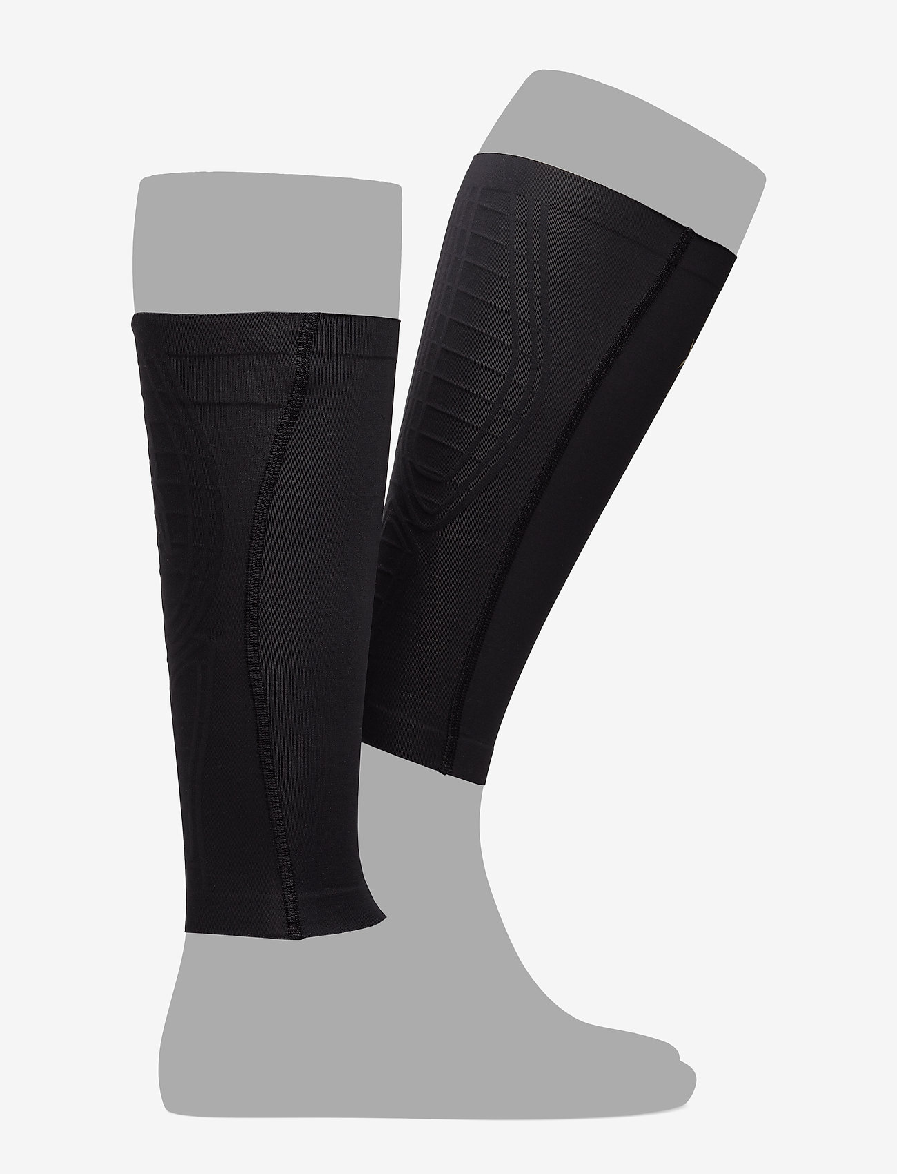 2XU - LIGHT SPEED COMPRESSION CALF - leg støtte - black/gold - 1