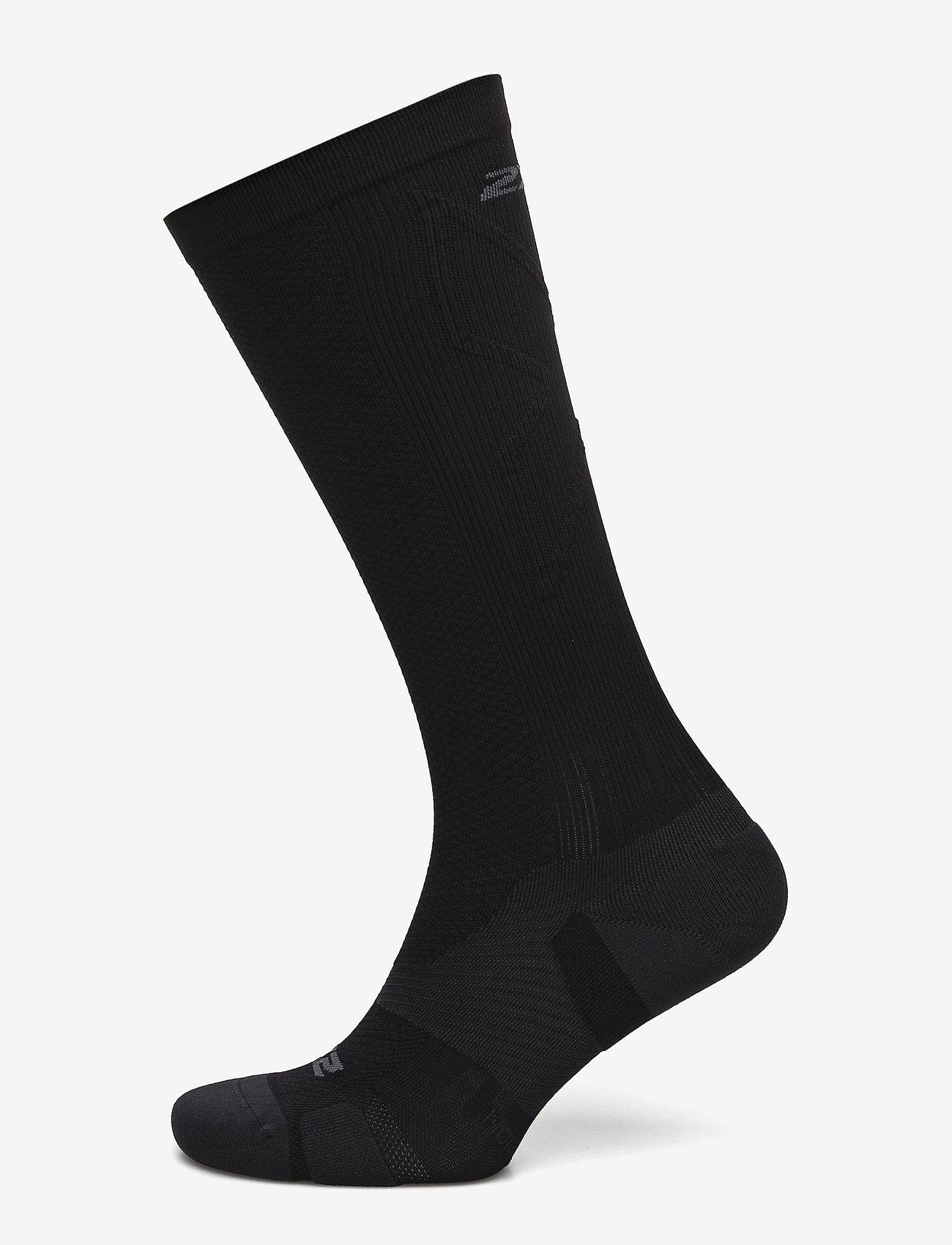 2XU - VECTR LIGHT CUSHION FULL LENG - tavalliset sukat - black/titanium - 0