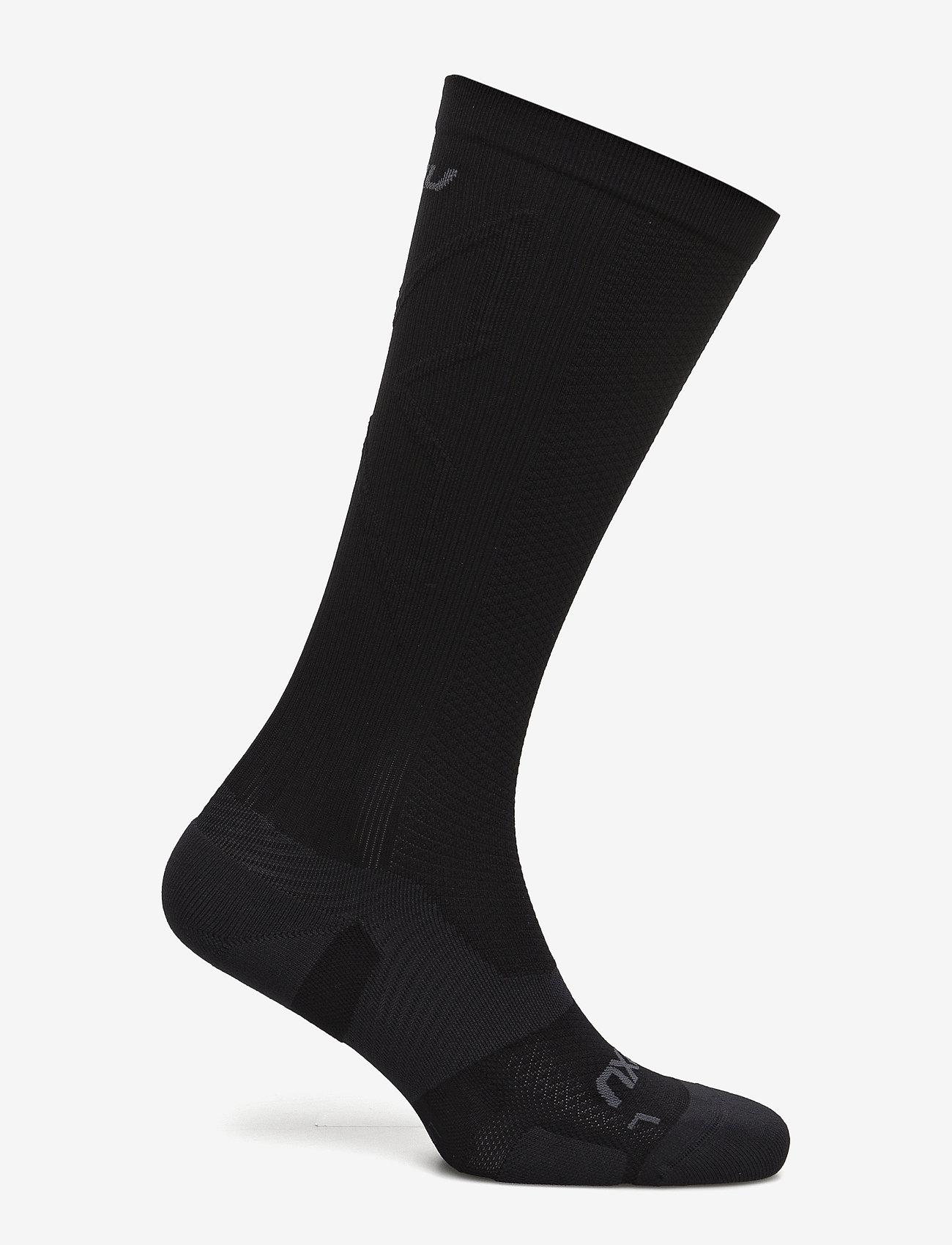 2XU - VECTR LIGHT CUSHION FULL LENG - tavalliset sukat - black/titanium - 1