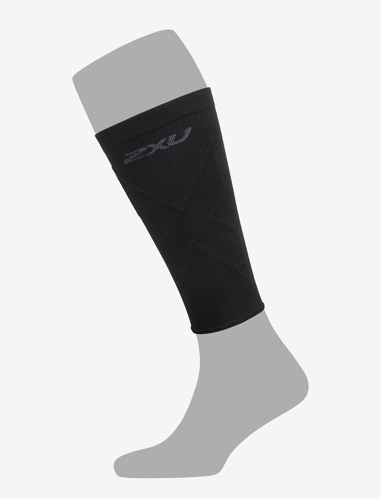2XU - X COMPRESSION CALF SLEEVES - leg støtte - black/black - 0