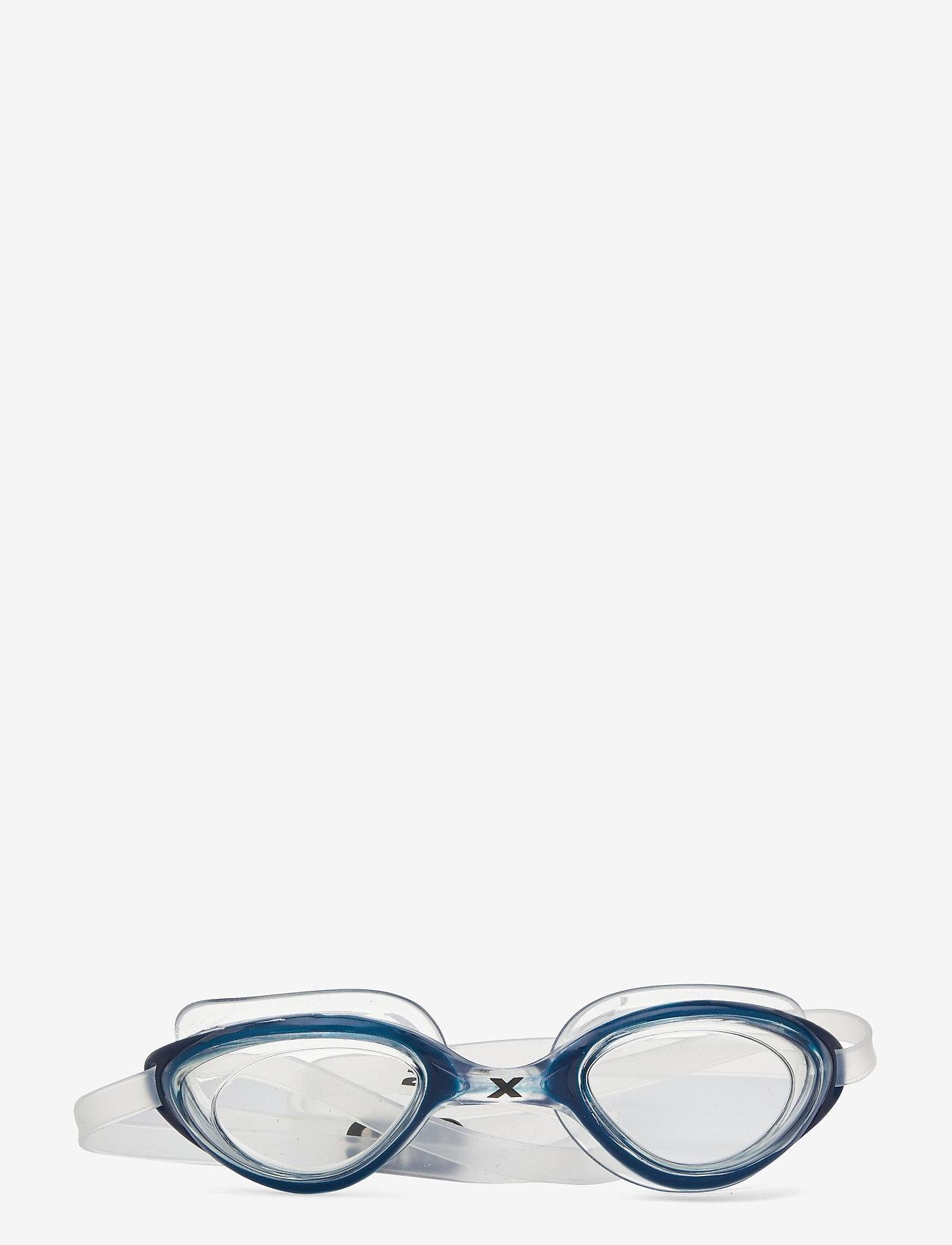 2XU - RIVAL GOGGLE - CLEAR - bril - clear/blue - 0
