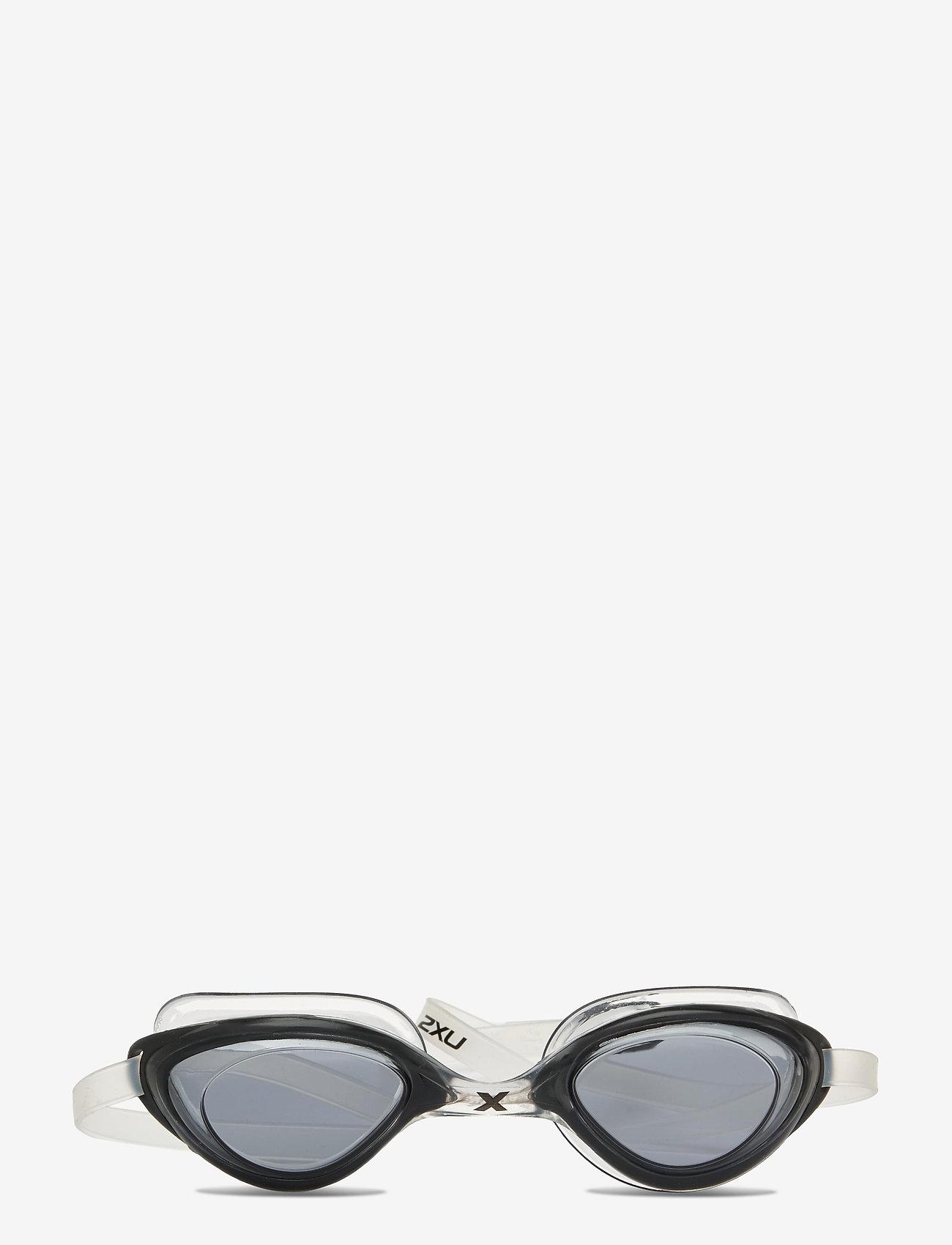 2XU - RIVAL GOGGLE - SMOKE - bril - black/clear - 0