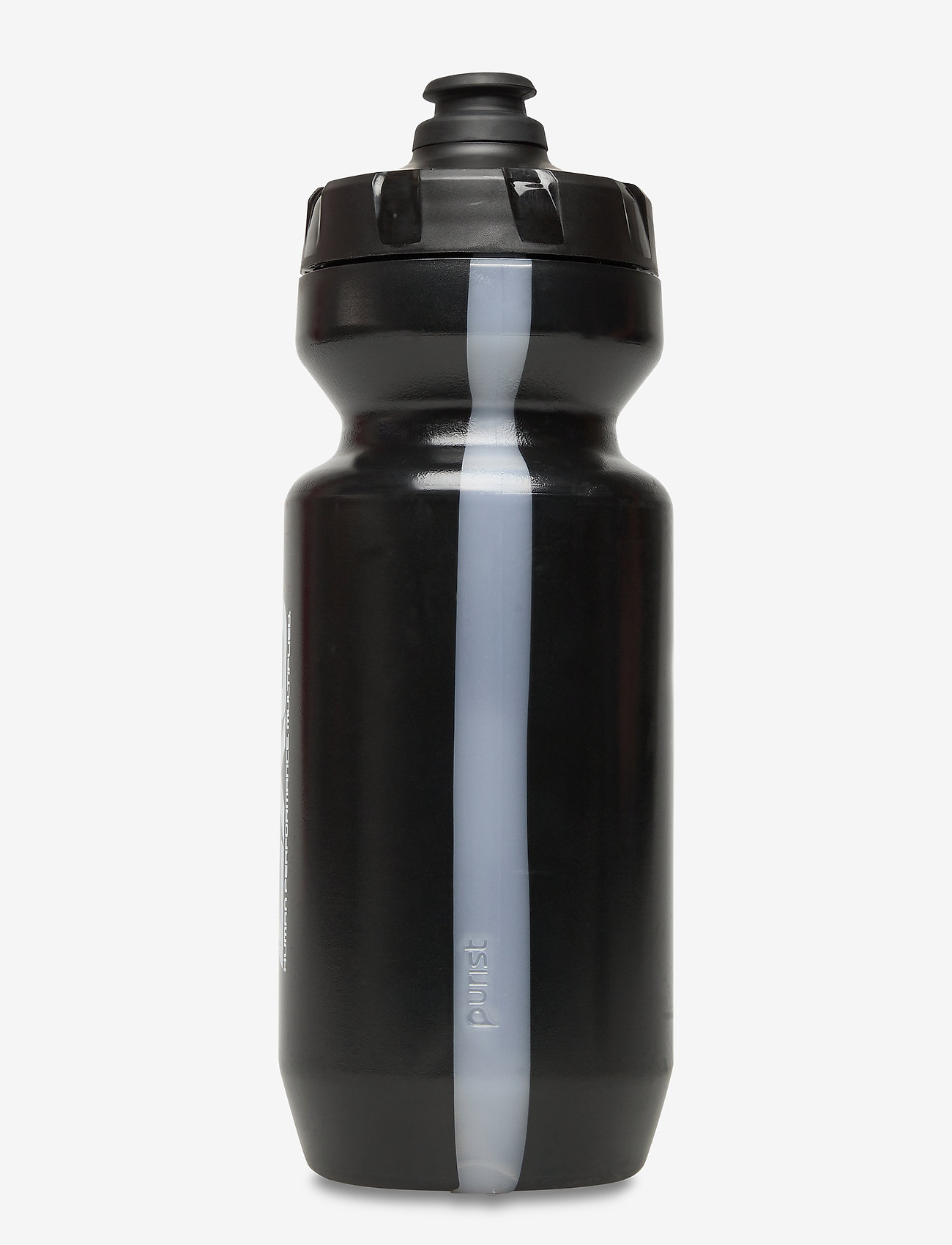 2XU - 22OZ WATERBOTTLE - vattenflaskor & termosar - black/black - 1