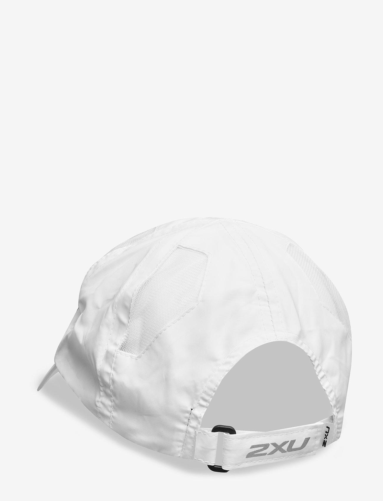 2XU - RUN CAP - petten - white/white - 1