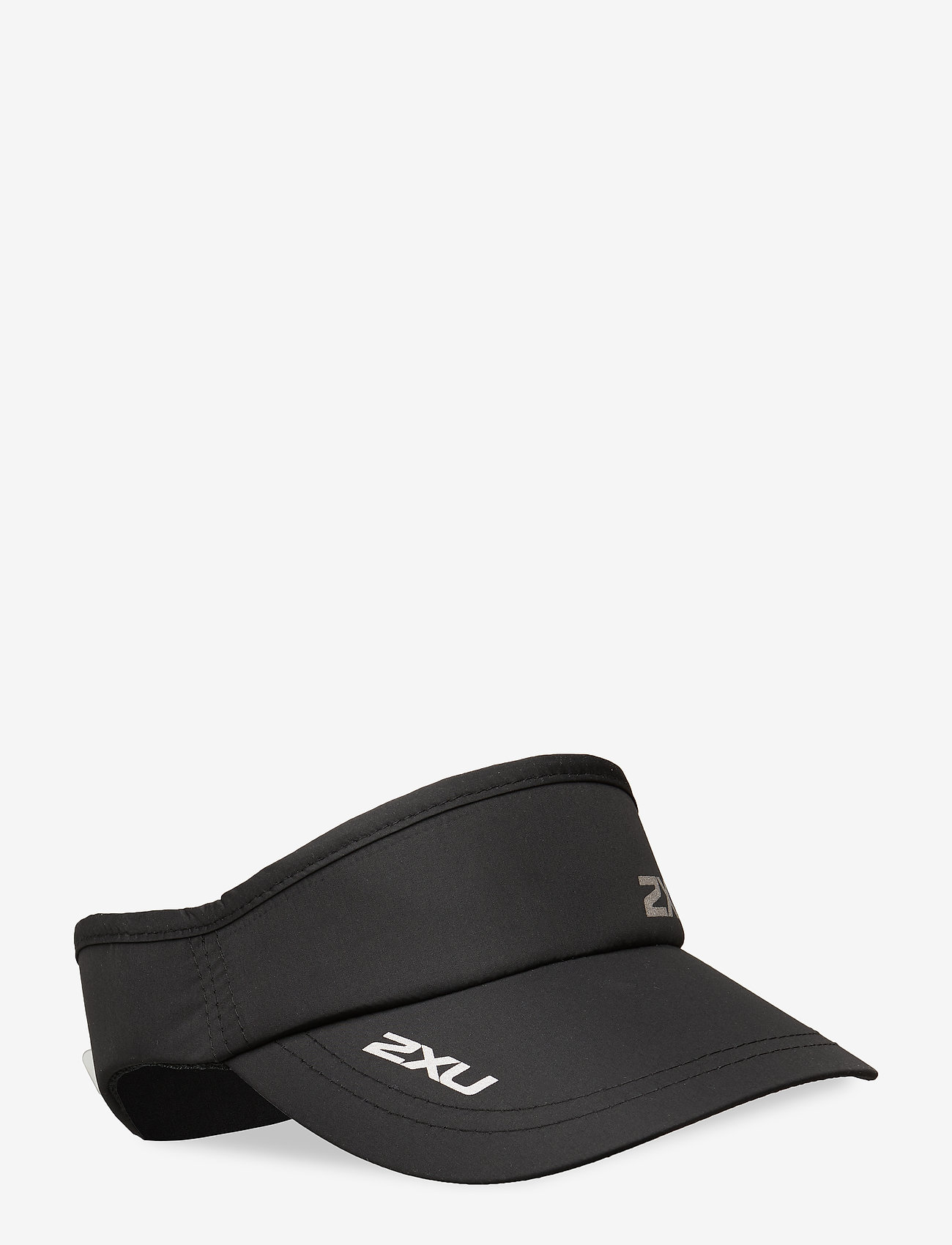 2XU - RUN VISOR - kasketter - black/black - 0