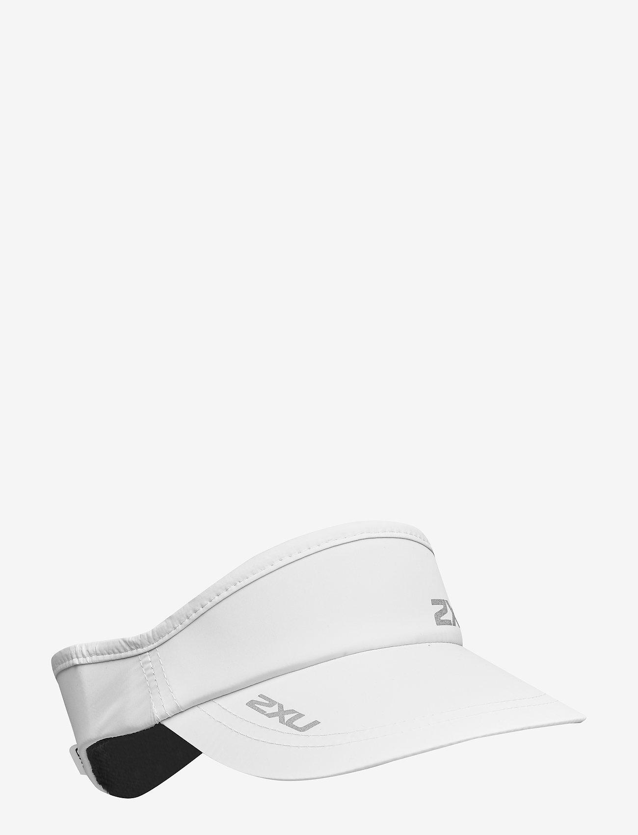 2XU - RUN VISOR - petten - white/white - 0