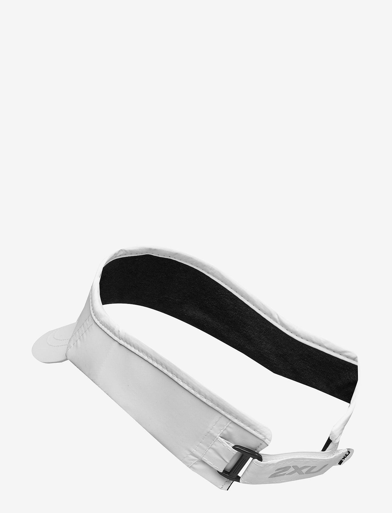 2XU - RUN VISOR - petten - white/white - 1