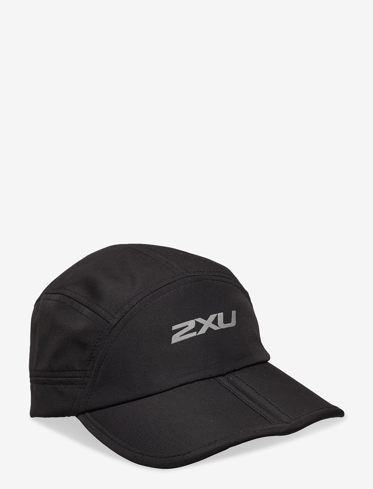 2XU - PACKABLE RUN CAP - petten - black/silver reflective - 0