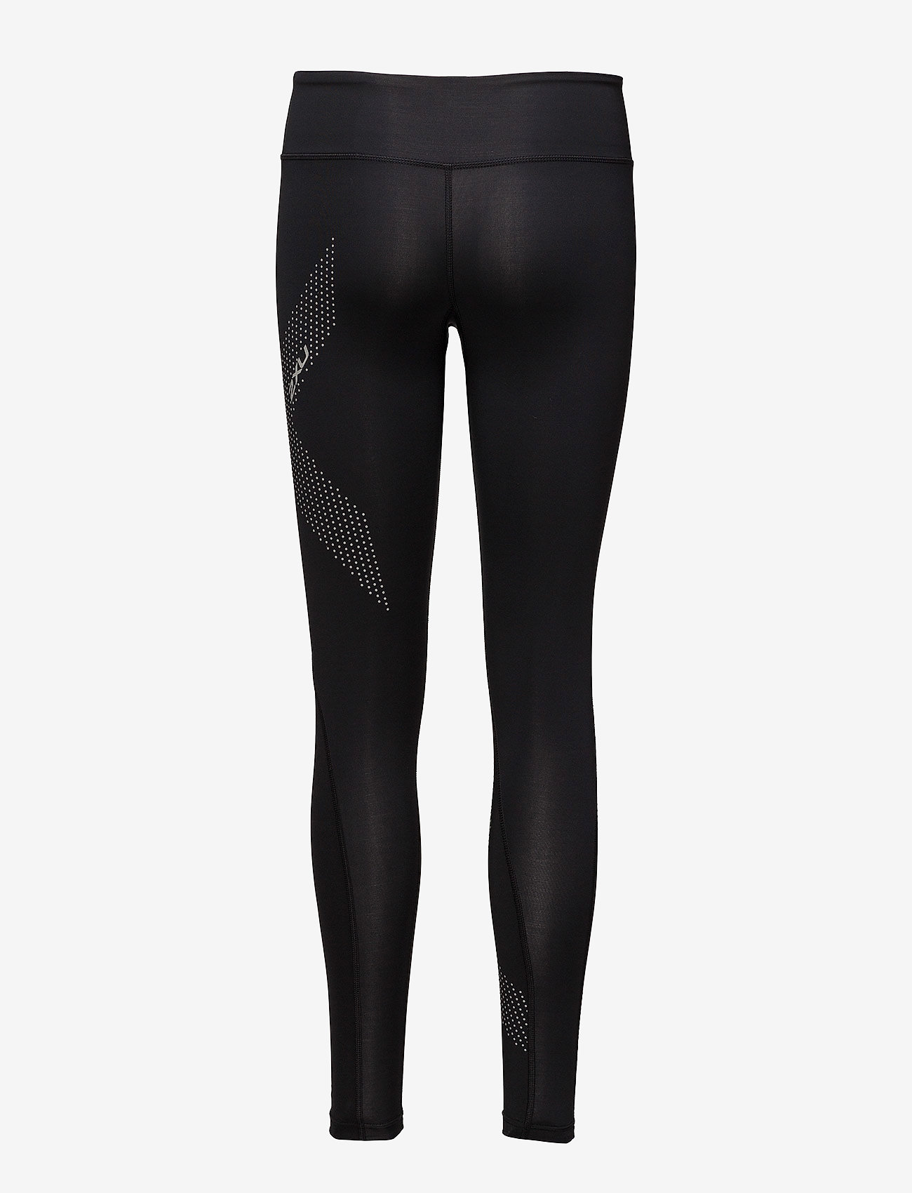 2XU - MOTION MID-RISE COMPRESSION T - sportleggings - black/dotted reflective logo - 1