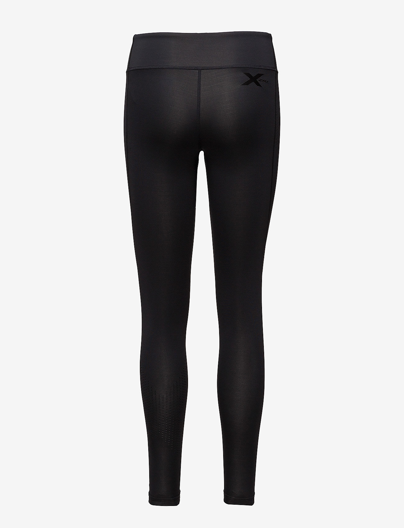 2XU - MOTION MID-RISE COMPRESSION T - sportleggings - black/dotted black logo - 1