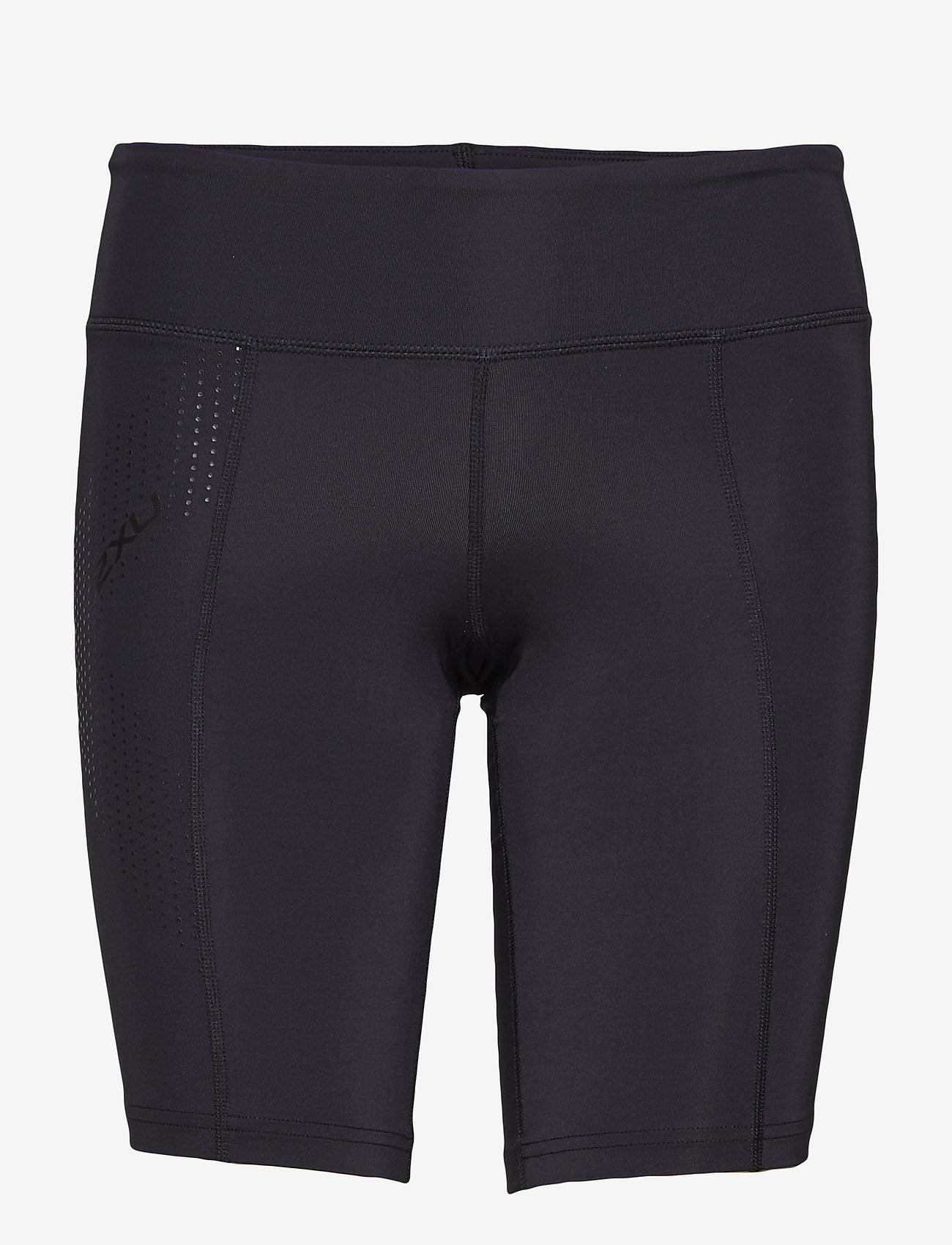 2XU - MOTION MID-RISE COMPRESSION S - träningsshorts - black/dotted black logo - 0