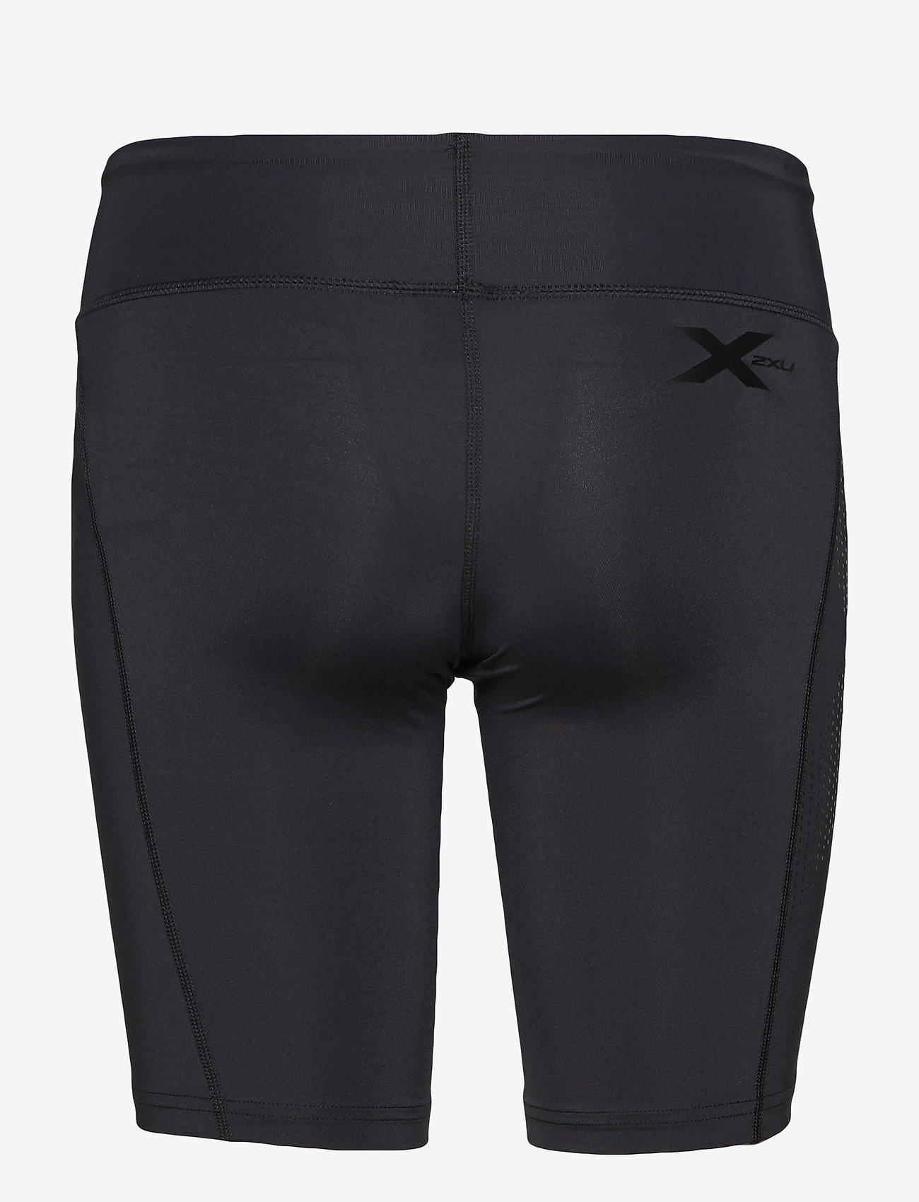 2XU - MOTION MID-RISE COMPRESSION S - träningsshorts - black/dotted black logo - 1