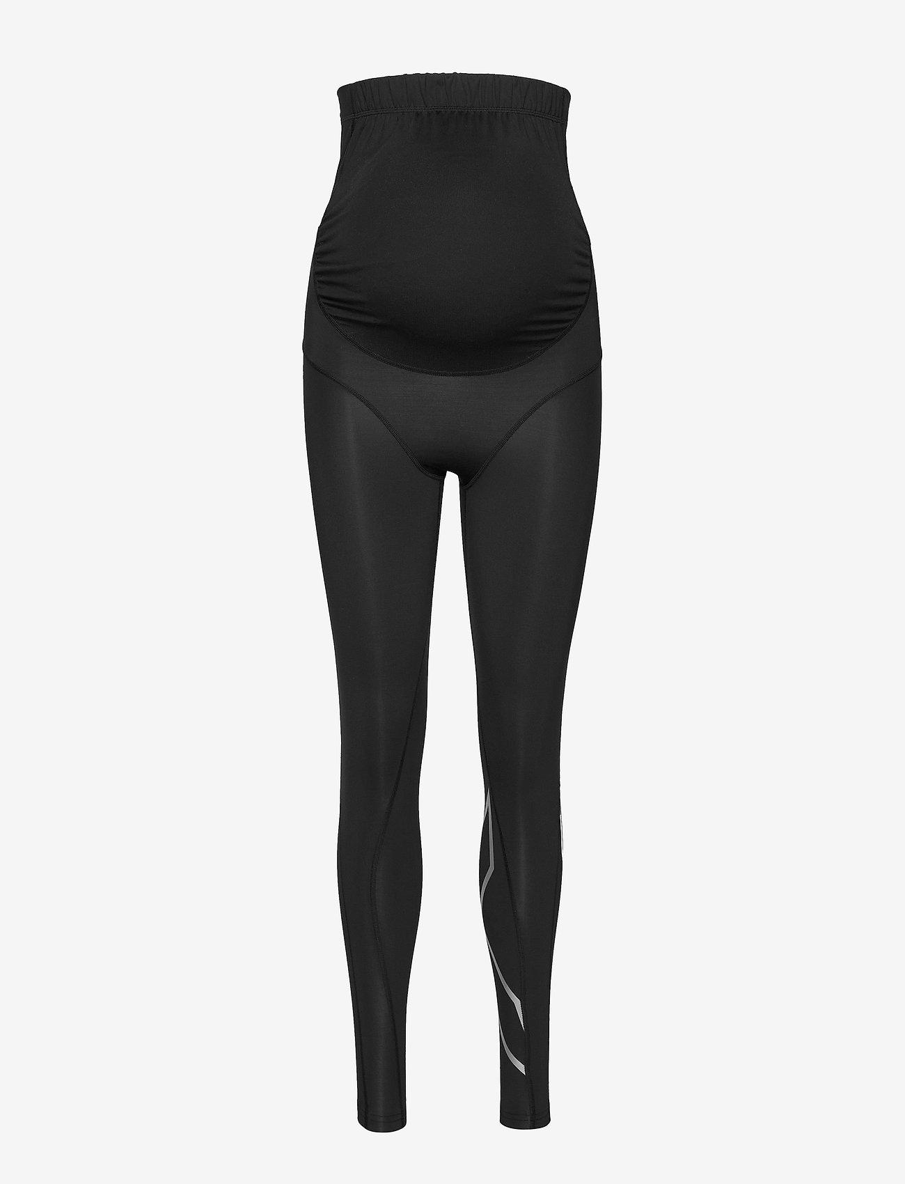 2XU - Prenatal Maternity Comp Tights-W - sportleggings - black/silver - 0