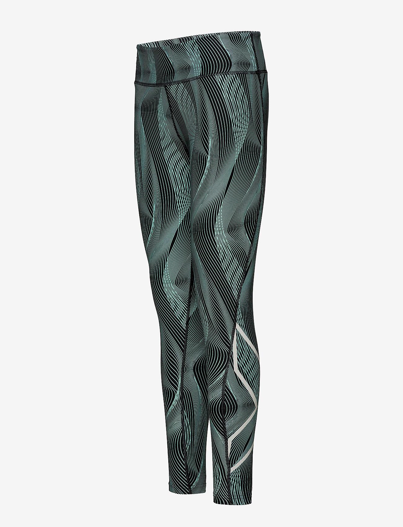 2xu Midriseprinttights-w - Leggings & Tights